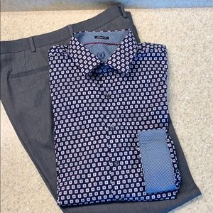 Bugatchi classic fit men's dress shirt
